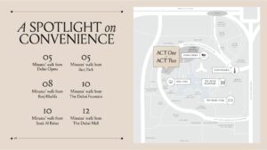 Act One Act Two Location Map Downtown Dubai