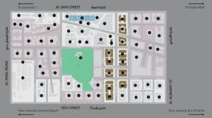 Central Park City Walk Dubai Masterplan
