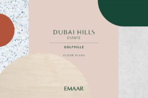 Golfville Dubai Hills Estate Apartments for Sale in Dubai Floor Plans