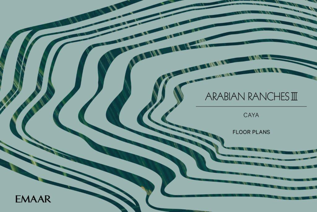 Caya Arabian Ranches III Floor Plans