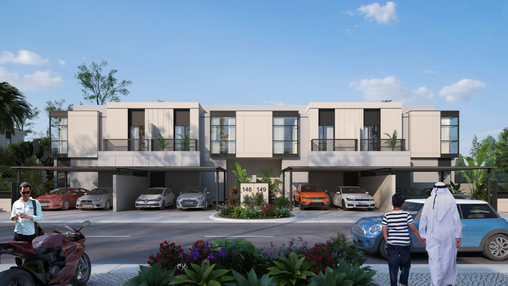 Townhouse B - Front